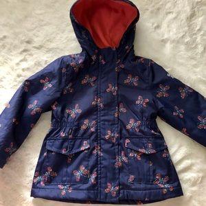 OshKosh B'Gosh Girls Fleece Lined Jacket 2t